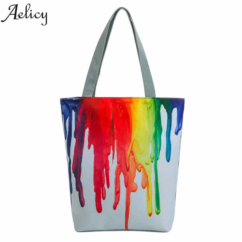 494b2453ab Detail Feedback Questions about Aelicy Large Canvas Shopping Totes Bag  Female Big Shoulder Bags for Woman 2018 Summer Beach Handbag Women Messenger  Fashion ...