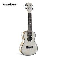 Hanknn 23 Maple Ukulele Concert Hawaiian Guitar Violin Ukulele Italy Import AQL Strings Musical Instruments for Beginner