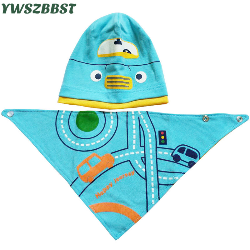Cartoon Baby Boy Hat Cotton Baby Hat set Spring Autumn Baby Girl Hat Kids Cap Beanies 0-3Y Toddlers enfants bonnet