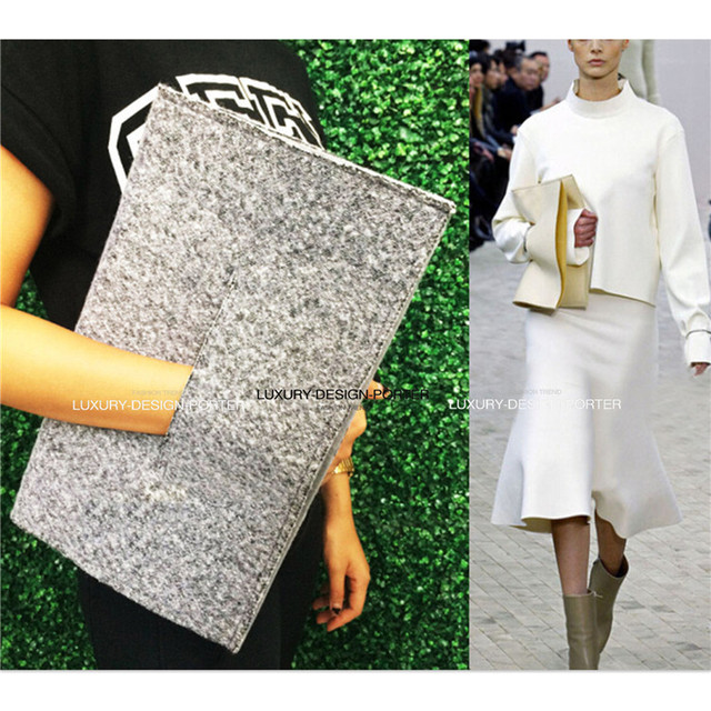 NEW Runway style clutch Designer Women handbag Purse Fold over IT bag Celebrity love Bolsa