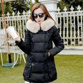 2016 women's New fashion Winter  Coats   Thick WarmCasual Slim Long sleeve Coat free shipping