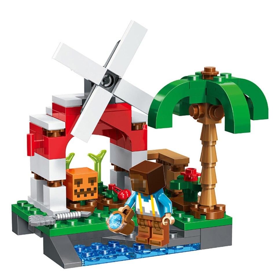 Minecrafts My World Building Blocks Compatible Legos City Minecraft
