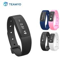 Teamyo смарт-браслет монитор сердечного ритма Фитнес трекер Носимых устройств Браслет фитнес-часы для Android IOS Touchpad OLED