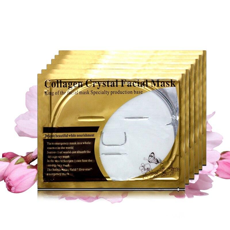 Moisturizing Face Sheet Mask Crystal Gel Hyaluronic Acid For The Face Collagen Nourishing Whole Face Mask Whitening Essence