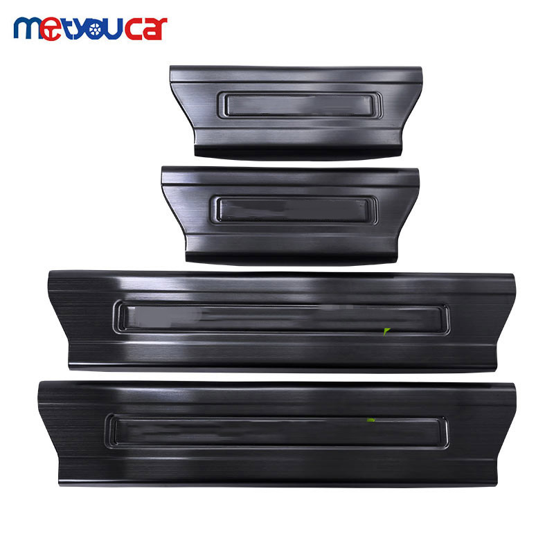 For Landrover Range Rover Sport 2014 2017 Car Accessories Stainless Steel Interior Door Sill Scuff Plate