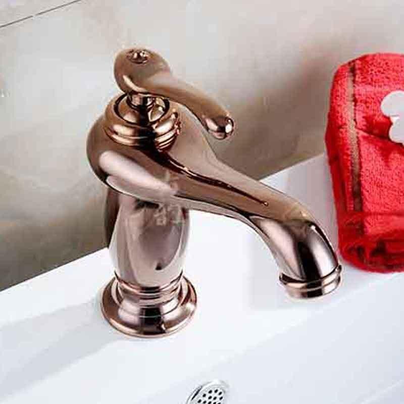 All copper antique copper faucet 8865 C models retro basin taps faucet wholesale gold