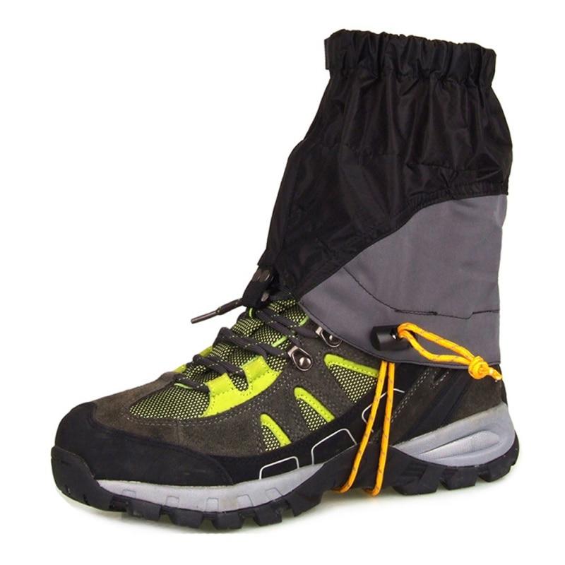 Sport all'aria aperta Sabbia Trekking Ghette Neve Arrampicata Scarpe Coperchio di Protezione Sci Escursionismo A Piedi Impermeabile Skate Breve Ghette
