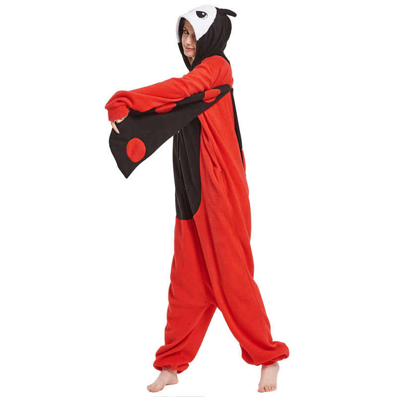 58a9258d8 Detail Feedback Questions about Ladybug Kigurumi Onesie Adult Red ...