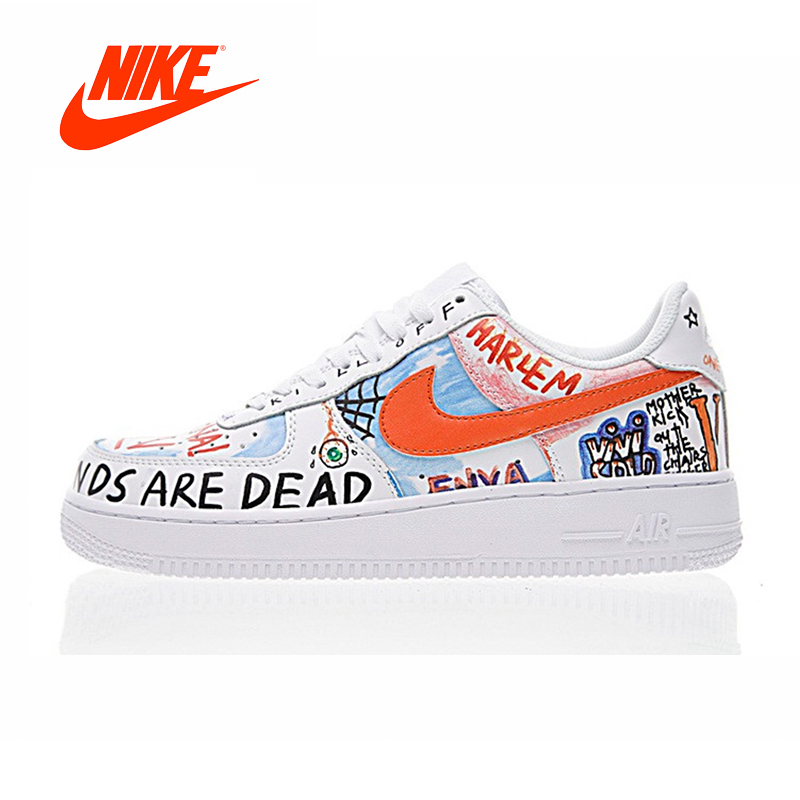 Original New Arrival Authentic NIKE AIR FORCE 1 LOW Men s Skateboarding  Shoes Sport Outdoor Sneakers Good 77e3bcdc8