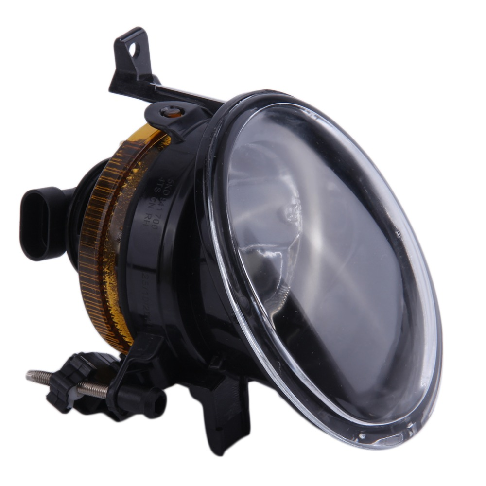 2017 Drop Shipping New Clear Glass Lens Front Fog Light Driving Lamp For Volkswagen Golf 6 Hot