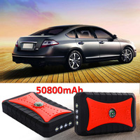 Mini Starting Device 50800mAh Car Jump Starter 12V 200A Portable Auto Starter Power Bank Car Charger