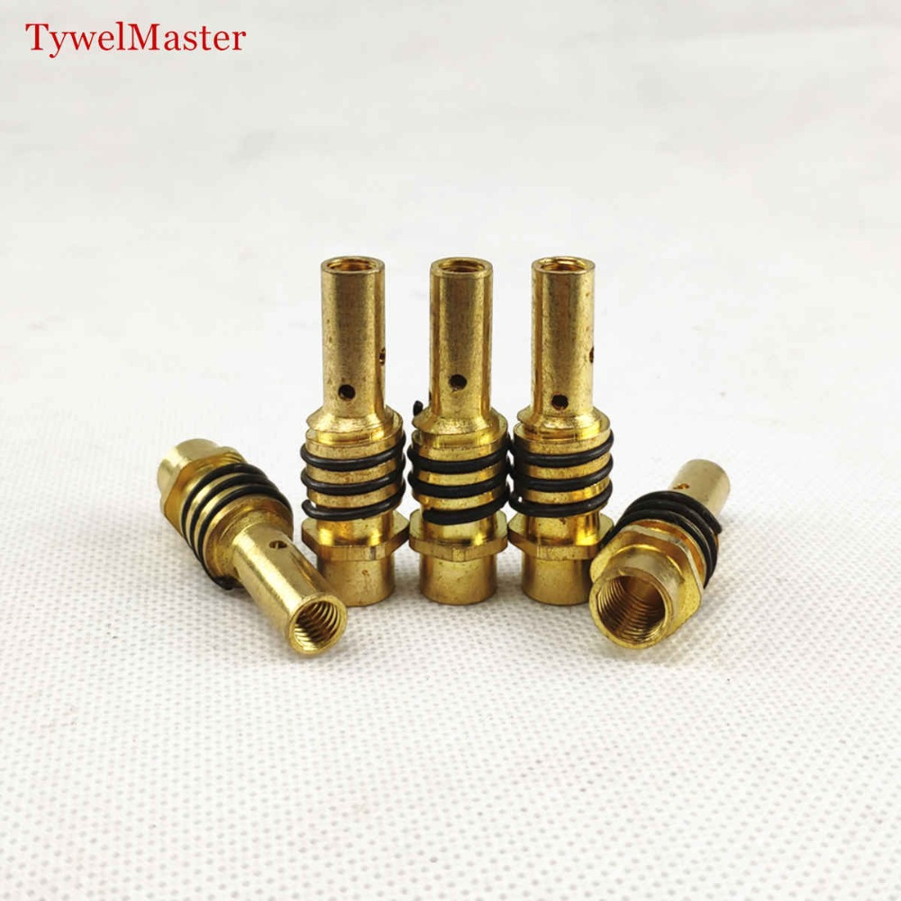 15AK Contact Tip Holder 5pcs Gas Nozzle Holder With Nozzle Spring For MIG MAG Welding Torch