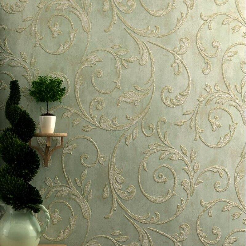 купить  Beibehang European and American style living room 3D Wallpaper Damascus home decoration wallpaper for walls 3 d papel de parede  по цене 2266.04 рублей