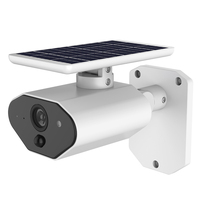 Low Power Consumption Solar  WIFI Waterproof Camera Use Tosee Plus Linked With Alexa Google Home IR Night Vision Motion Detect