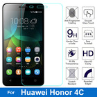 2.5D HD Clear Honor Play 4C Screen Protector Tempered Glass Protective Film For Huawei G Play Mini Honor 4C CHM-U01 honor4c Dual