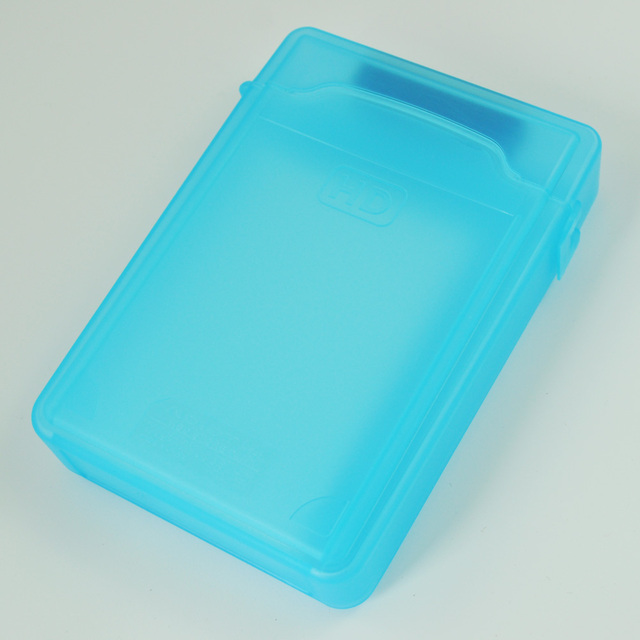 Wholesale 8X 3.5inch IDE SATA HDD Storage Box Case Enclosures HDD Polypropylene Boxs