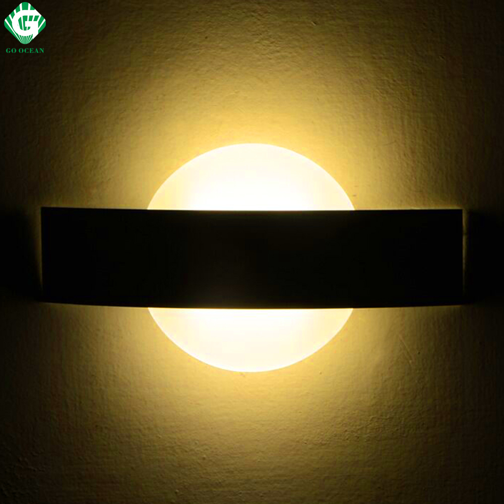 Wall Sconces For Hallway: GO OCEAN Wall Lamps Sconce Modern LED Wall Light