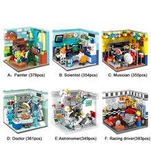 XINGBAO 01402 оригинальные строительные блоки живой дом набор строительных кирпичей развивающие игрушки Совместимость с логотипом блоки игрушки