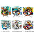 XINGBAO 01402 Genuine Building Blocks The Living House Set Building Bricks Educational Toys Compatible with LOGO blocks toys