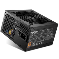 Cooler Master блок питания для ПК компьютер питание Номинальная 500 Вт 500 12 см вентилятор в ATX PC BRONZ 80 PLUS для игры офисные