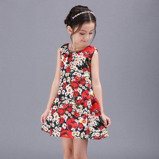 8d3f7a7322 Toddler Girl Dresses Summer Frock Princess Kids Clothing Flower Children Clothes  Girls Kids Clothes Girl Children Summer Dress