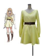 Envío Gratis de Saint Seiya Omega Aquila Yuna Uniforme de Cosplay del Anime