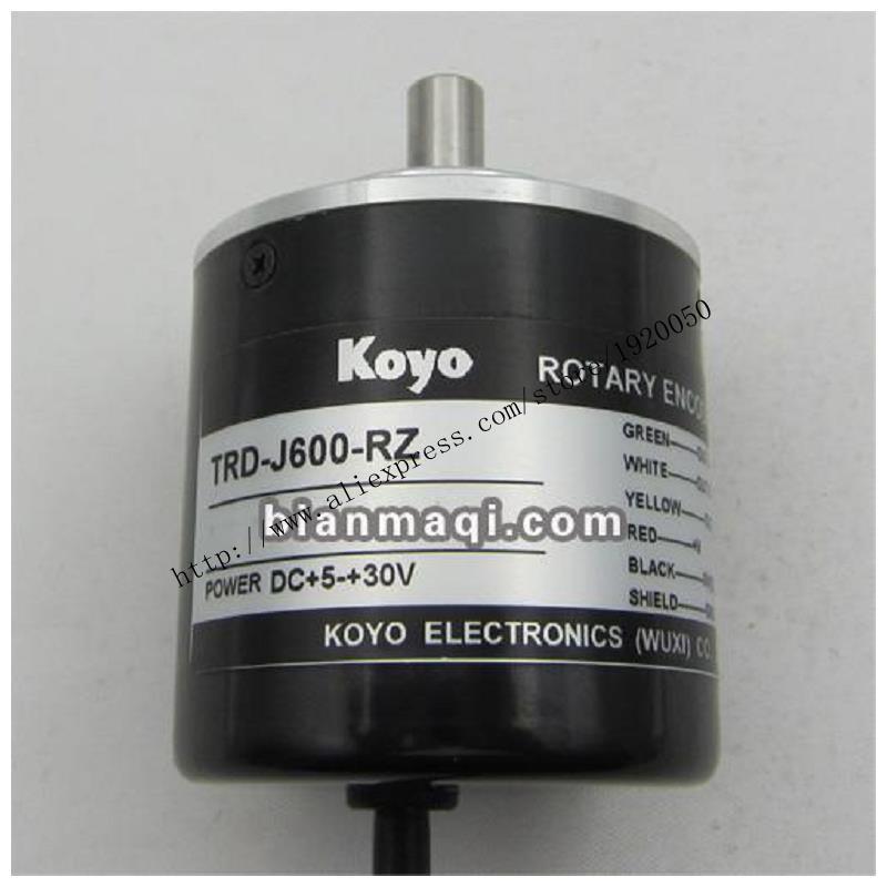 KOYO Koyo TRD-J600-RZ rotary encoder  outside diameter of 50mm shaft diameter 8mm 600KOYO Koyo TRD-J600-RZ rotary encoder  outside diameter of 50mm shaft diameter 8mm 600