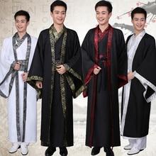 Chinese Nationale Kostuum Hanfu Qin Dynastie En Najaar Strijdende Staten Officiële Dienst Han Dynastie Prestaties Kleding