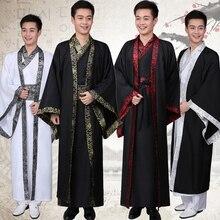 Çin ulusal kostüm Hanfu Qin Hanedanı Ilkbahar ve Sonbahar Savaşan Devletler resmi hizmeti Han Hanedanı performans giyim