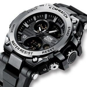 Image 1 - Relogio Masculino KDM Fashion Men Sport Watch 2019 Male LED Digital Quartz Wrist Watches Mens Top Brand Luxury Digital Watches
