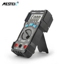 MESTEK multímetro AC DC de alta precisión, valores eficaces auténticos, DM90A, rango automático, voltaje de corriente Digital de frecuencia