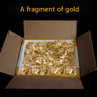 1 Gram Small Pieces Real Genuine Gold Leaf Foil Flake, Edible,mask, Decorative Dishes, Very Beautiful, Free Shipping
