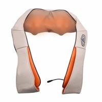 U Shape Electrical Back Neck Shoulder Body Massager Infrared Heated Kneading Car Home Massagerr Multifunctional Shawl