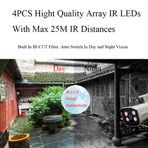 Image 5 - Onvif cámara IP inalámbrica de seguridad para el hogar, dispositivo de vigilancia con resolución HD de 1080P, WiFi, ranura para tarjeta Micro SD, impermeable para exteriores