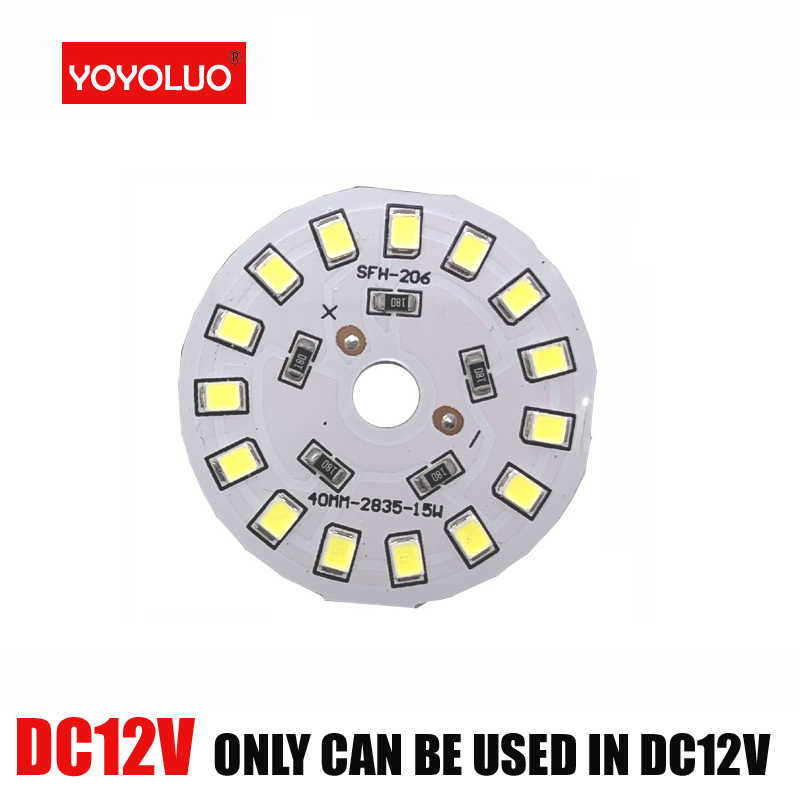 Diy led dc12v led 40 w 27 21 6 9 lâmpada led inteligente ic driver branco quente frio led projector chip