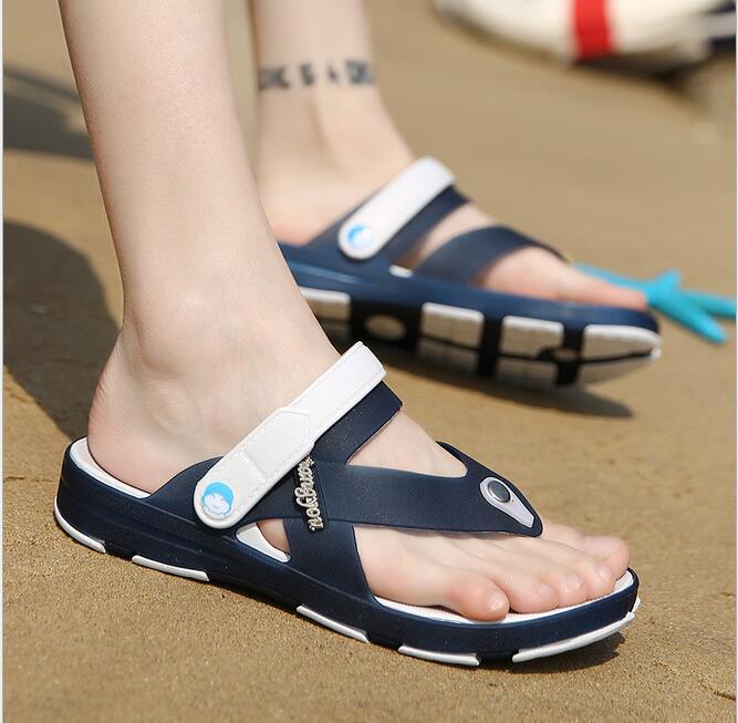 lowest price Mens Flip Flops Sandals Casual Men Shoes Summer Fashion Beach Flip Flop Slippers masculino peep toe slip on slides mlb mens locker label contour flip flop pick team