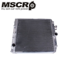 2 Row 42MM Aluminum car auto Radiator for Honda Civic Del Sol 92-00 MT EG/EK цена в Москве и Питере