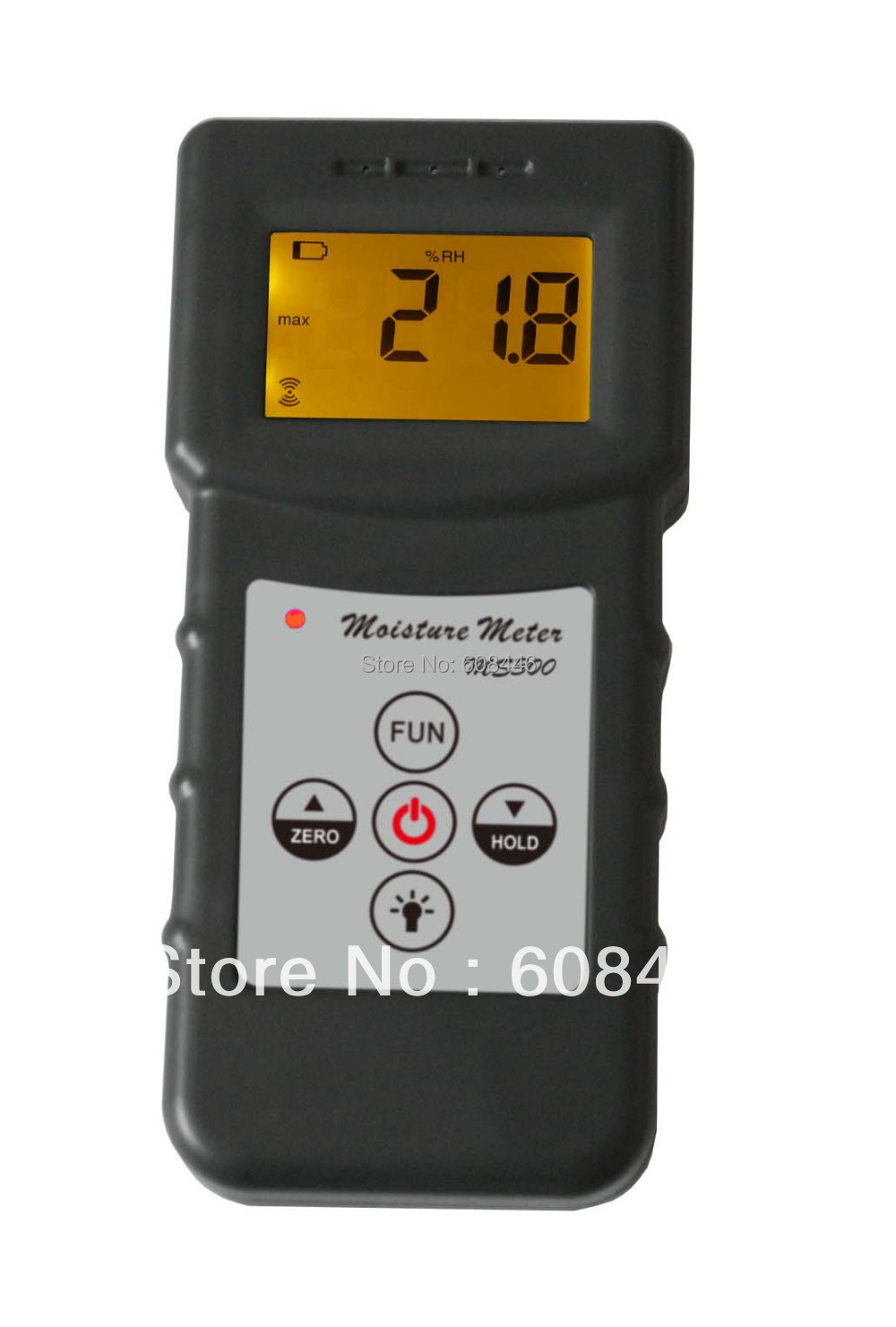 3 Pcs/Lot MS300 Inductive moisture meter measuring moisture content of wood,paper,Bamboo, concrete,metope,and other material fiber materials wooden articles tobacco cotton paper building soil and other fibre materials digital wood moisture meter mc7806