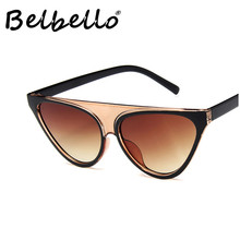 Belbello Punk Sunglasses Men Acrylic Women Color Lens Fashion Retro Trend Tourism Driving