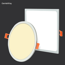 hot deal buy  gentelway ultra-thin flat ceiling panel lights modern square & round down lamp 5w 8w 16w 22w 32w led lighting illumination