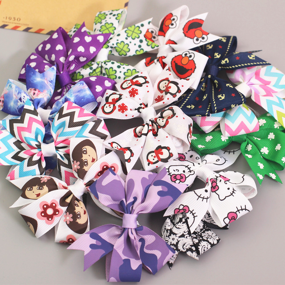 fashion cute ribbon hairpin girls kids hair clip barrette accessories for children hairclip hairgrip tiara ornaments headdress fashion barrette baby hair clip 10pcs cute flower solid cartoon handmade resin flower children hairpin girl hairgrip accessories