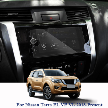Car Styling Car Navigation GPS Screen Film Paint Protective For Nissan Terra EL VE VL 2018-Present TPU Display Dashboard Film image