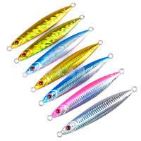7pcs 210g/14cm Fishing lures Bait Glow Metal Jigging Slow Fall Jigs Inchiku Tuna King# All Fishing Position Tackle weihefishing