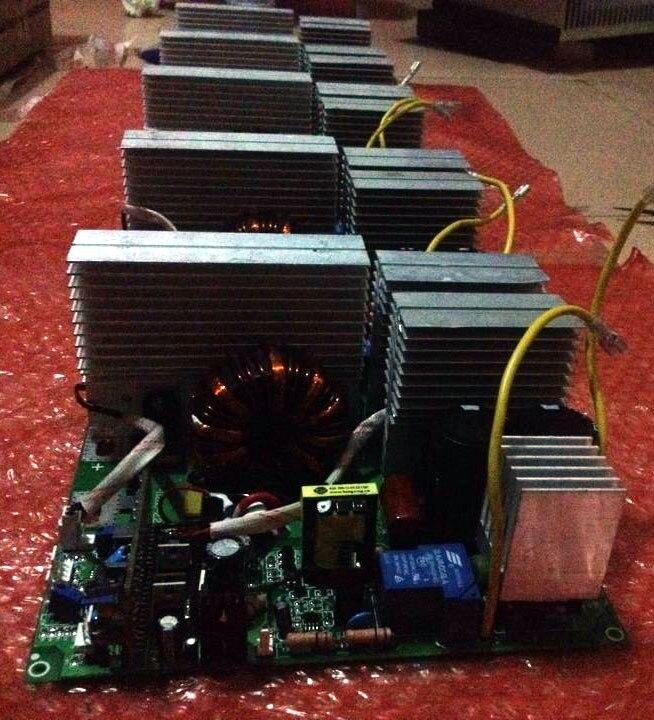 Deska plošných spojů ZX7 120 IGBT PCB Jednotná deska pro - Svářecí technika - Fotografie 5