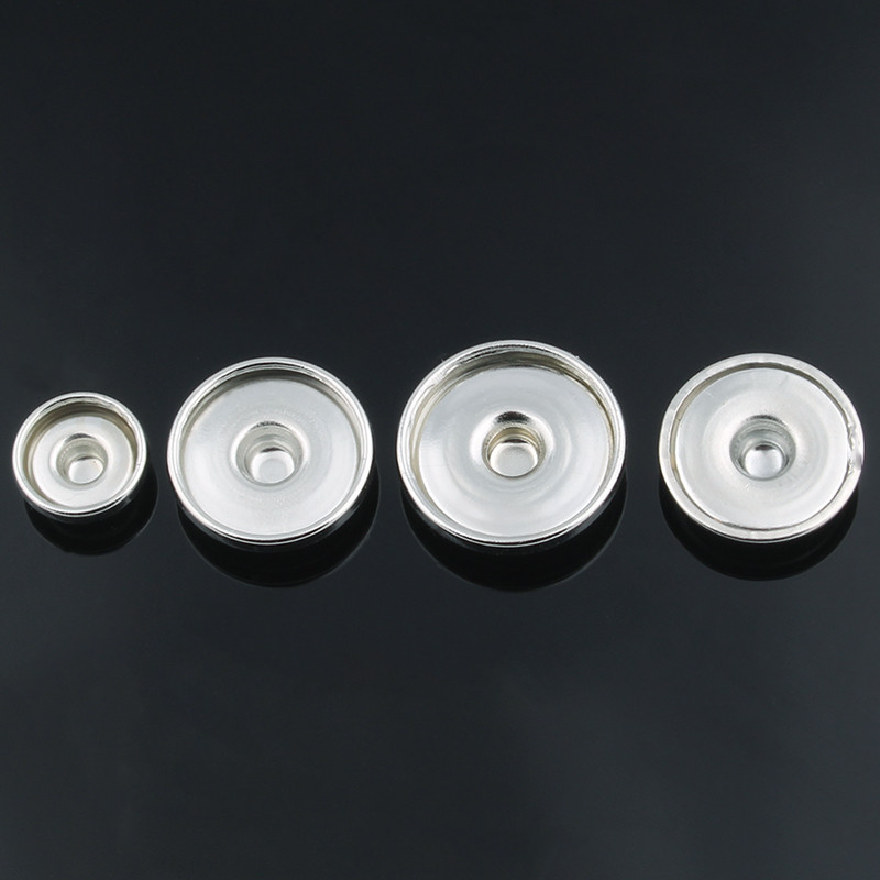 10 Set 21mm Metal Sew on Snap Buttons Fasteners Press Buttons DIY Sewing Clothes Accessories ,Q1756 Silver