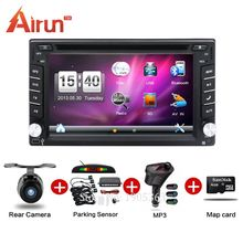 2016 double din stereo Car DVD GPS Player In Dash MP3 Head Unit CD Camera parking TV Radio Video Audio