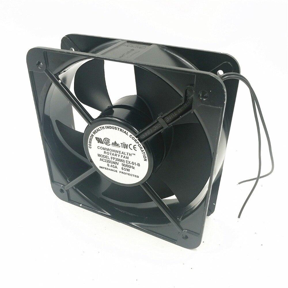 FP20060EX-S1-B Axial Fan 220V 65W 0.45A 200*200*60 Cooling Fan Air Blower FP20060EX-S1-B Axial Fan 220V 65W 0.45A 200*200*60 Cooling Fan Air Blower