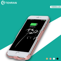 10000mAh Capacity Battery Charger Cases For Iphone 6 7 8 Plus Smartphone Battery Case Spare Battery
