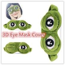 Masque 3D en peluche pour couvrir la tête, accessoires mignons pour couvrir les yeux, sommeil, repos, voyage, cadeau amusant, 20 #