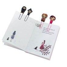 8 шт. милые закладки для книг,, рисунок из фильма, поделки, закладки для книг, скрепки для книг, школьные канцелярские принадлежности, офисные принадлежности, подарок для детей